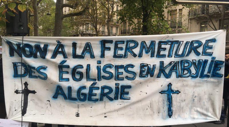 Non à la fermeture des Eglises en Algérie