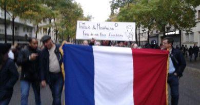 Une première en France – Manifestation contre «l'Islamophobie» Le GOUVERNEMENT absent de la République