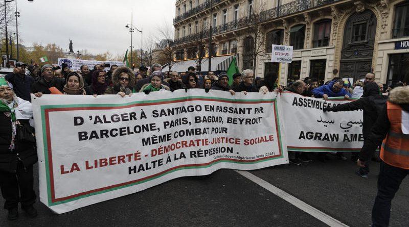 Les Algériens manifestent aux quatre coins du monde, contre l'élection présidentielle