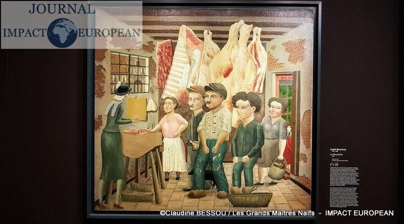Exposition : Du Douanier Rousseau à Séraphine, les Grands Maîtres Naïfs