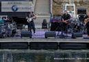 Sébastien Didyme en concert sur la scène flottante d'Agde