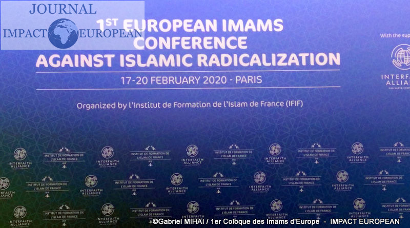 1er Colloque des imams d'Europe qui s'engagent contre la radicalisation