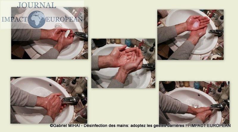 Désinfection des mains: et si on vous passait un savon?