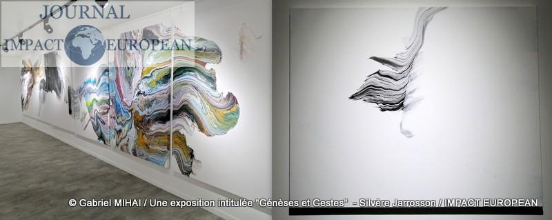 L'âme d'un artiste danse dans l'abstraction lyrique