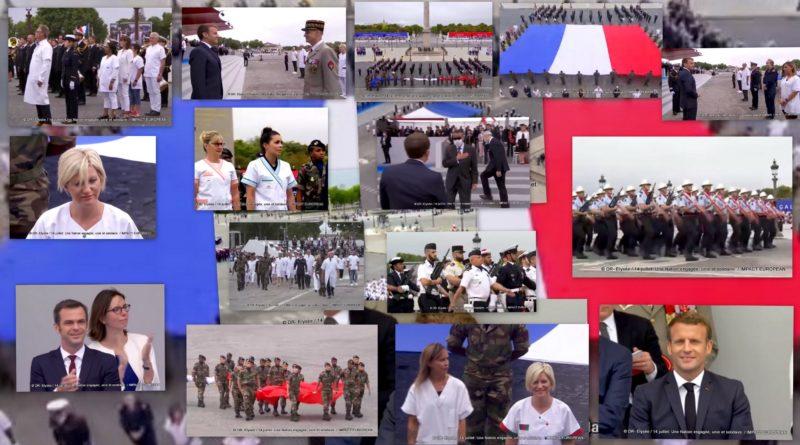 14 juillet: Une Nation engagée, unie et solidaire, une hommage aux soignants et au Général de Gaulle