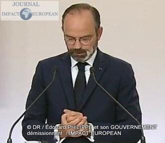 Édouard PHILIPPE et son GOUVERNEMENT démissionnent, laisse la place à Jean Castex