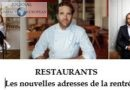 Restaurants: de nouvelles tables font leur rentrée!