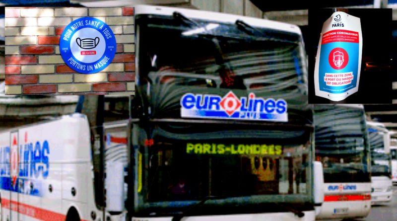 Covid-19: Extension du port du masque à Paris et quarantaine au Royaume-Uni