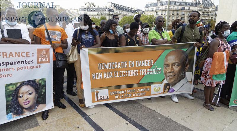 La diaspora ivoirienne de Paris se mobilise contre un 3ème mandat de Ouattara