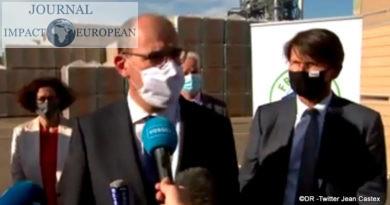 Le Premier ministre Jean Castex détaillant la reprise économique