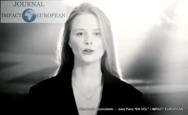 """Avec la sortie de son album""""EN VOL"""", Julia Paris vole vers les sommets"""