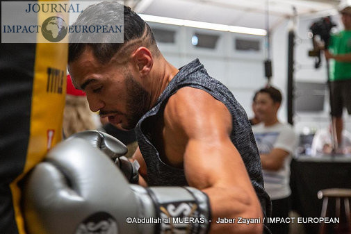 Jaber Zayani, l'étoile montante de la boxe