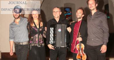 Divano Dromensa en concert à Notre-Dame de Lorette