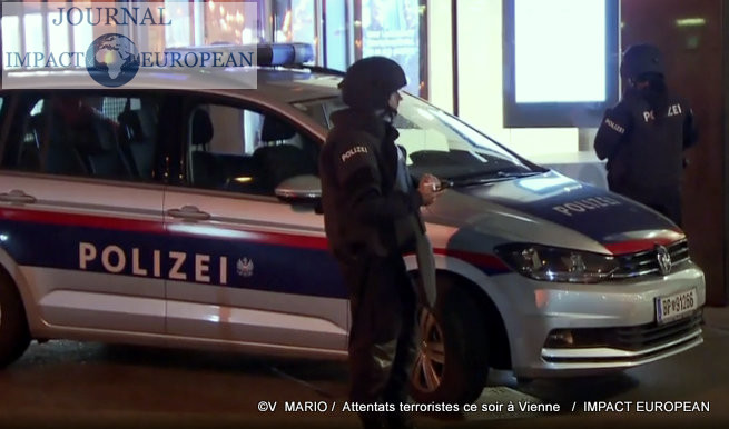 L'Autriche est le théâtre de six attentats consécutifs à Vienne