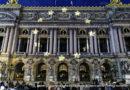 Un spectacle d'amitié sur la façade de l'opéra Garnier