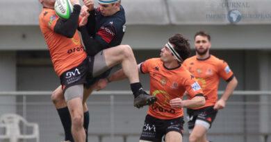 Rugby Nationale – Le RCNM remporte une 6e victoire de rang et maîtrise le vent en Blagnac