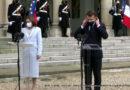Emmanuel Macron a reçu la présidente de Moldavie Maia Sandu à l'Élysée