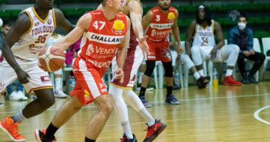 NM1: TBC vs Challans basket (103 à 74)