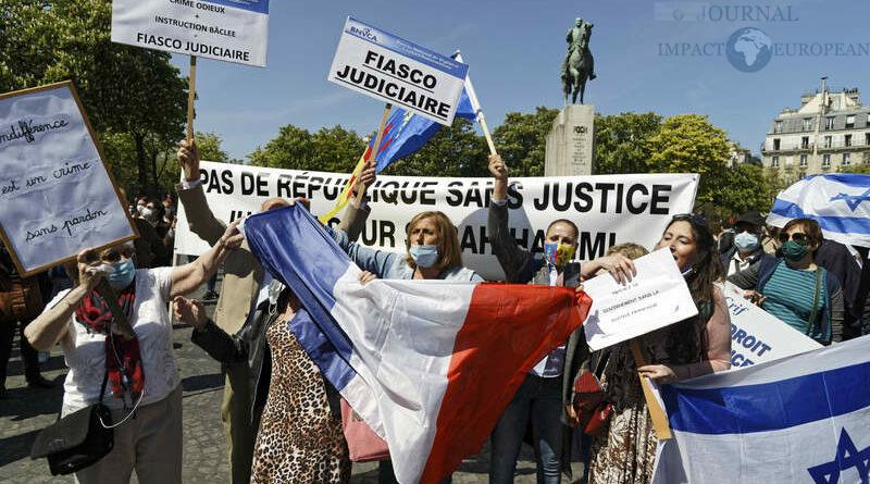 Manifestations pour  Sarah Halimi
